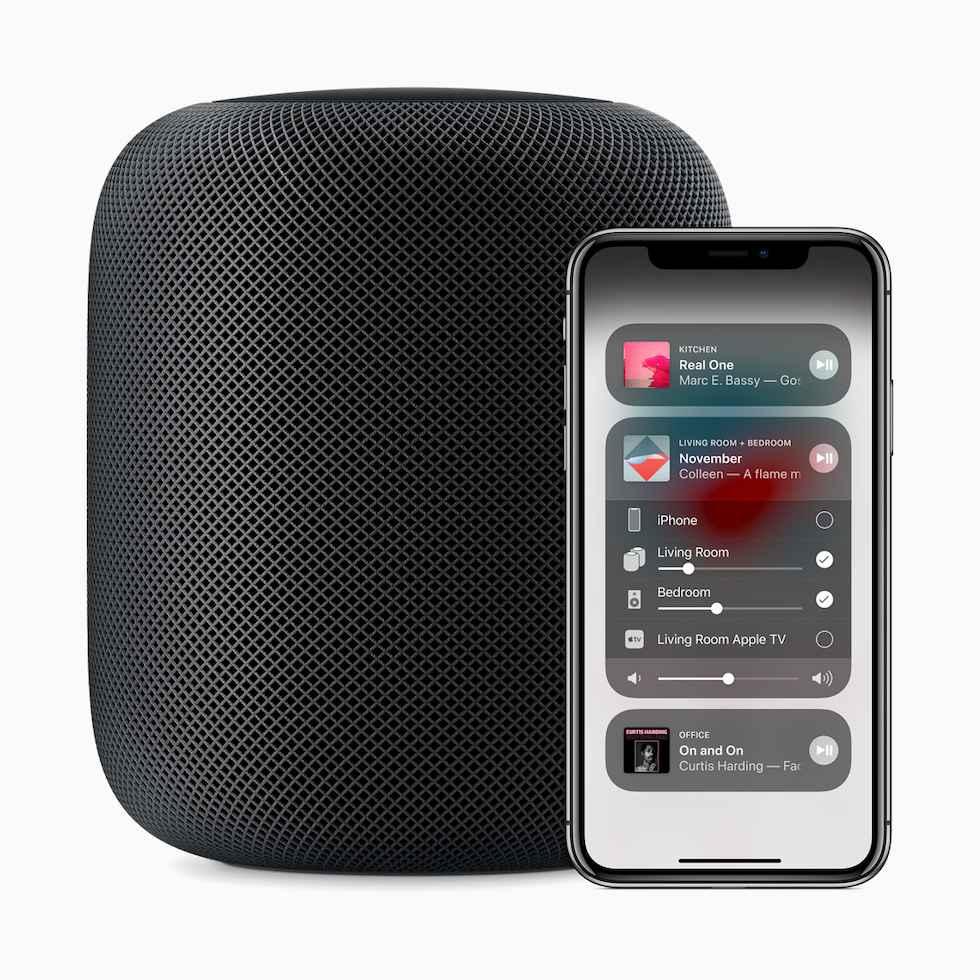 Apple HomePod Multiroom System App