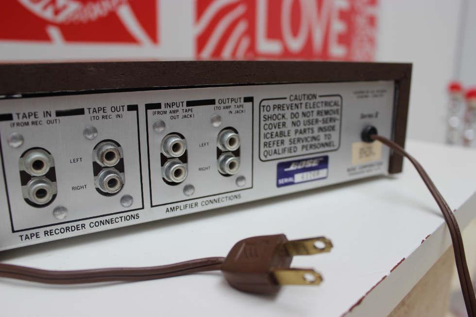 Bose 901 Active Equalizer Anschlüsse
