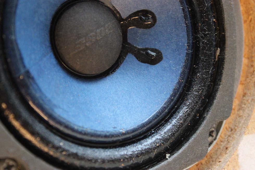 Bose 901 II Lautsprecher mit Gewebesicken